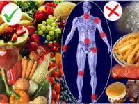 Полезные и вредные продукты при артрите
