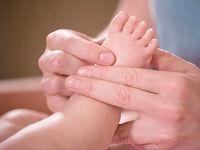 Массаж детских ног