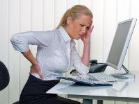 Боль в спине у женщины