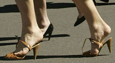 Ходьба на каблуках