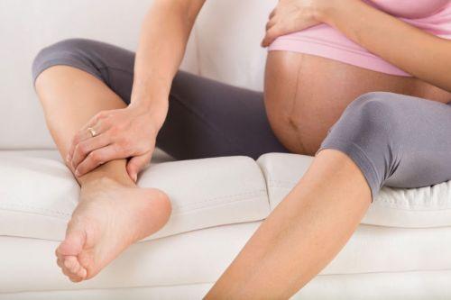 Боль в ноге у беременной
