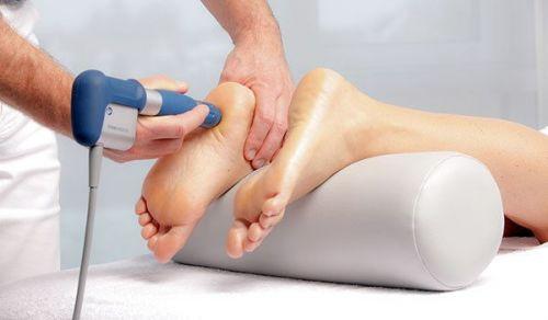 Физиотерапия пятки
