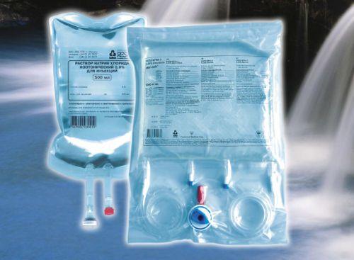 Физраствор для инфузионного введения